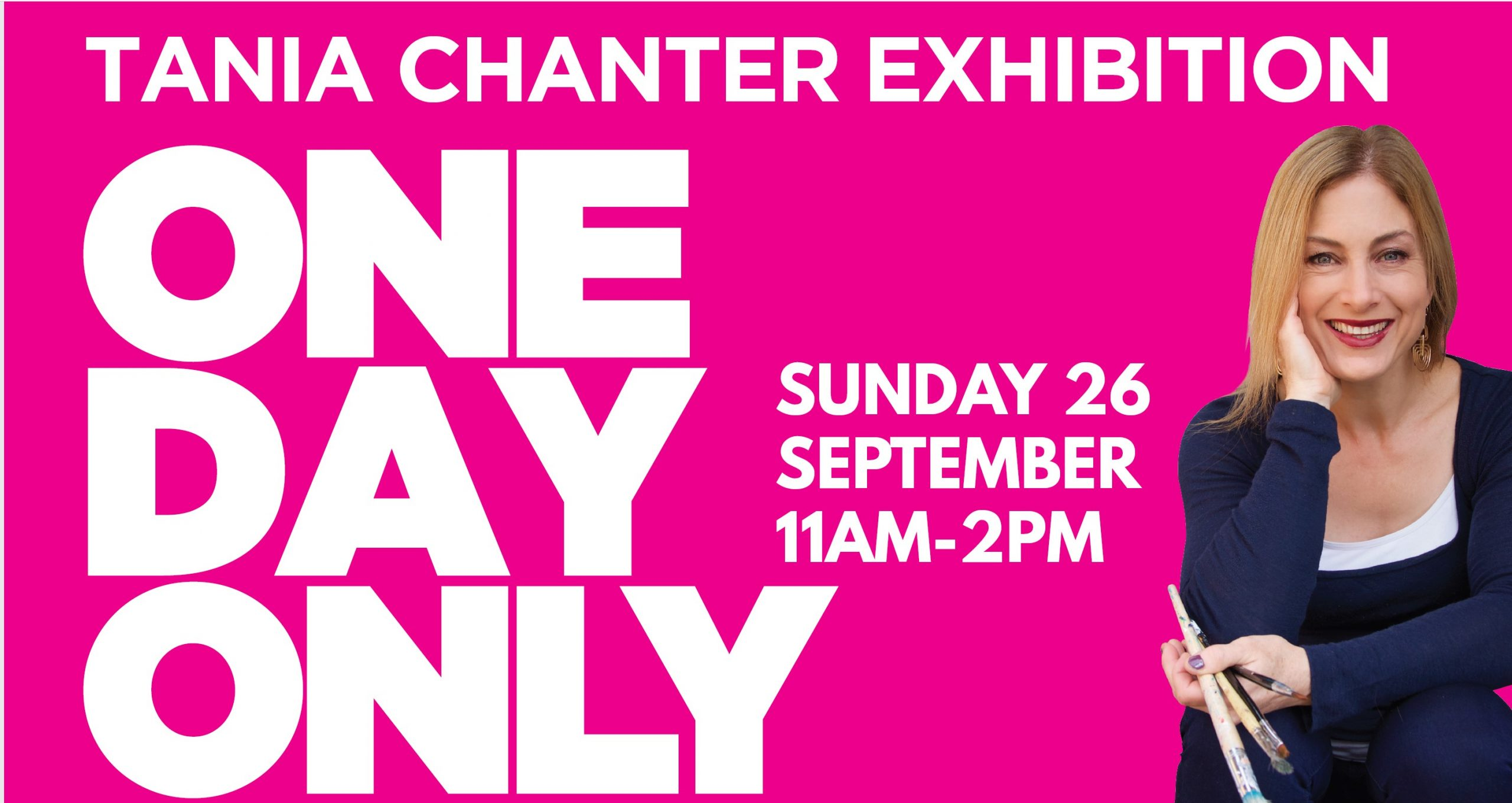 Tania Chanter Exhibition  One Day Only  by Canterbury International Hotel